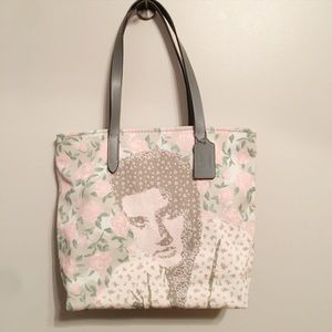 Coach Elvis Presley Limited Edition Floral Tote